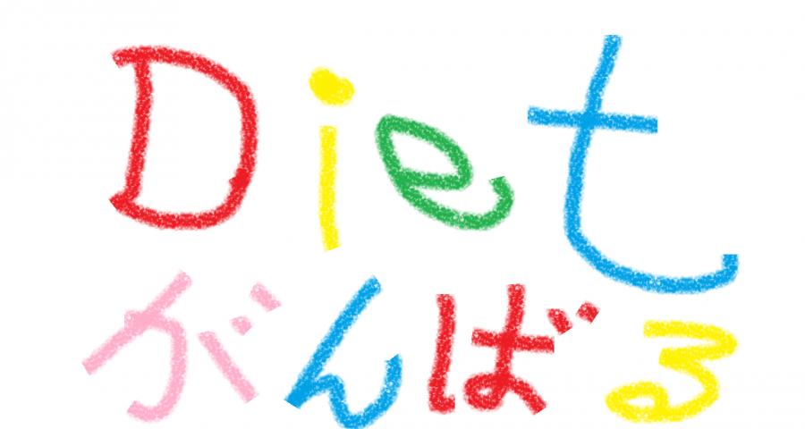 ダイエット頑張る