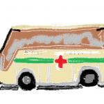 献血車の中は、ER(救命救急室)
